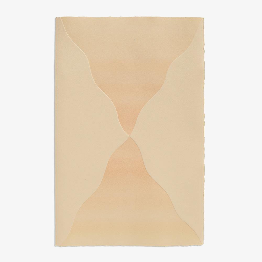 Touching III (In Ivory), Work on Paper  by  Touching III (In Ivory) Tappan
