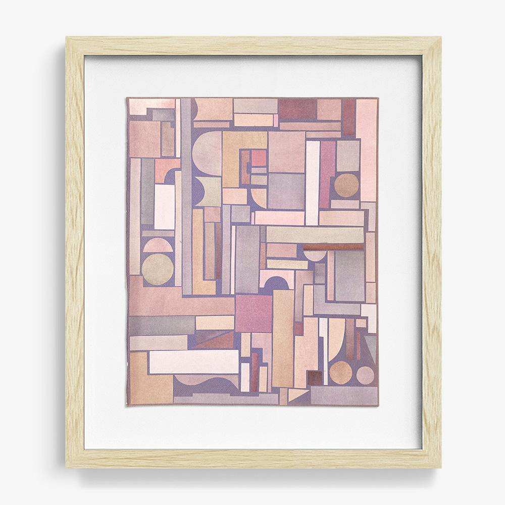 Untitled, Lilac, Original Work on Paper  by  Untitled, Lilac Tappan