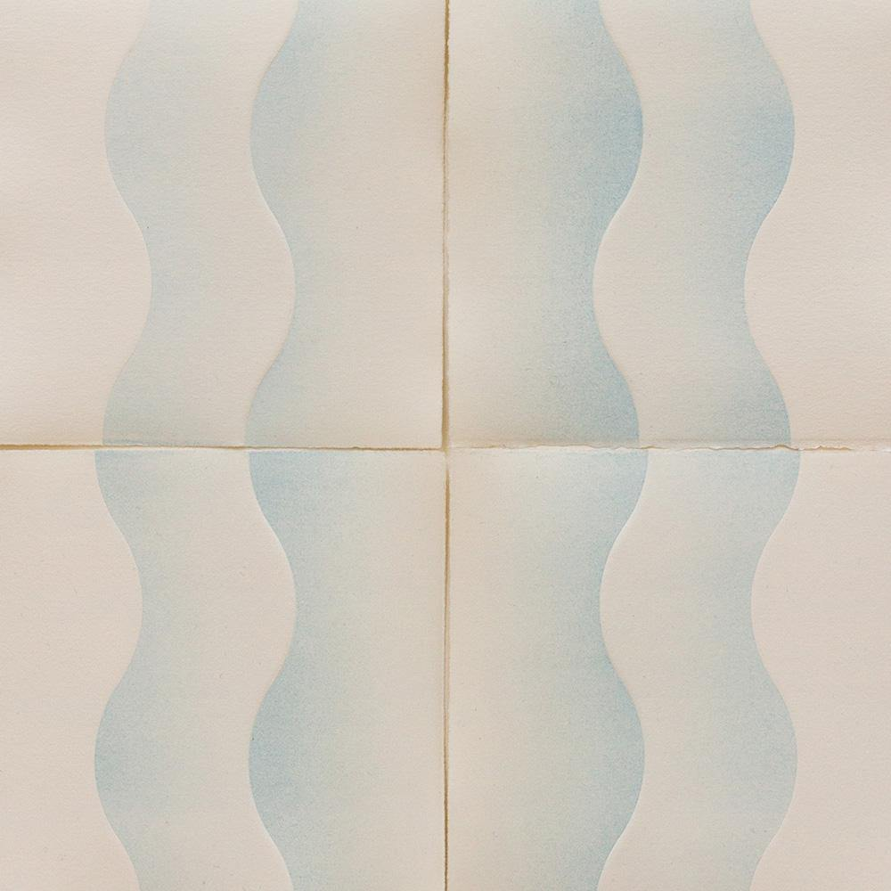Waves (in White), Work on Paper  by  Waves (in White) Tappan