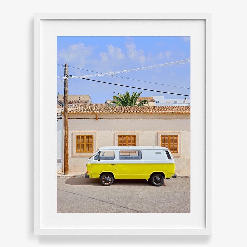 Yellow Van, Photograph  by  Yellow Van Tappan