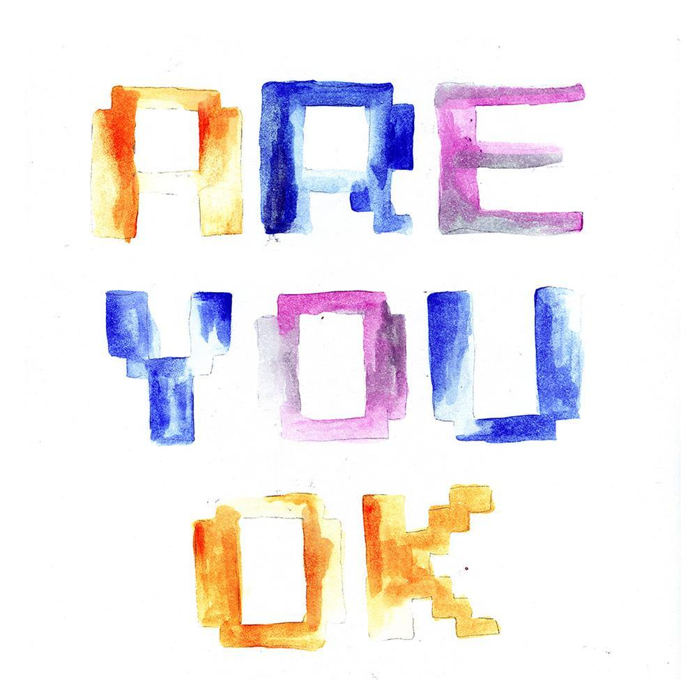 Are You OK, Print  by  Are You OK Tappan