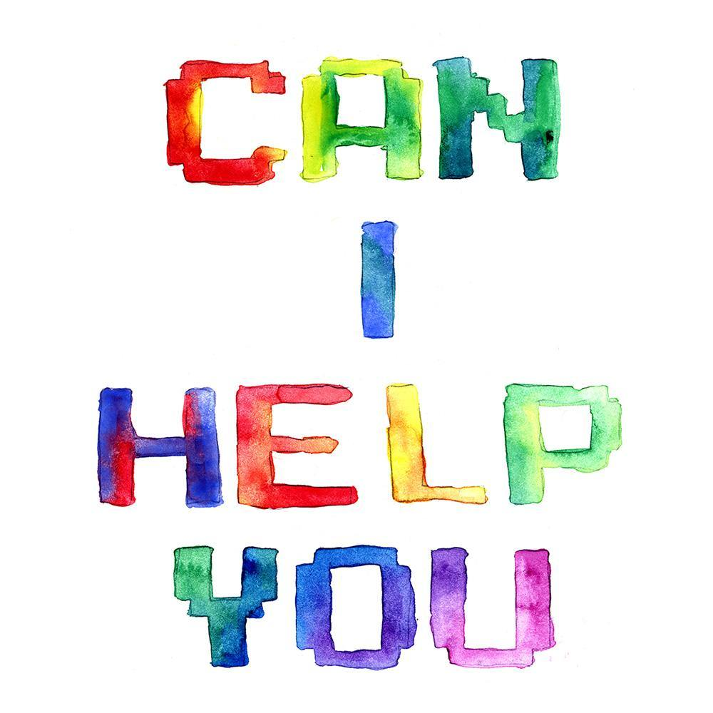 Can I Help You, Print  by  Can I Help You Tappan
