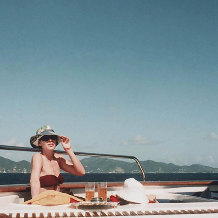 Girl on a Boat, Photograph  by  Girl on a Boat Tappan