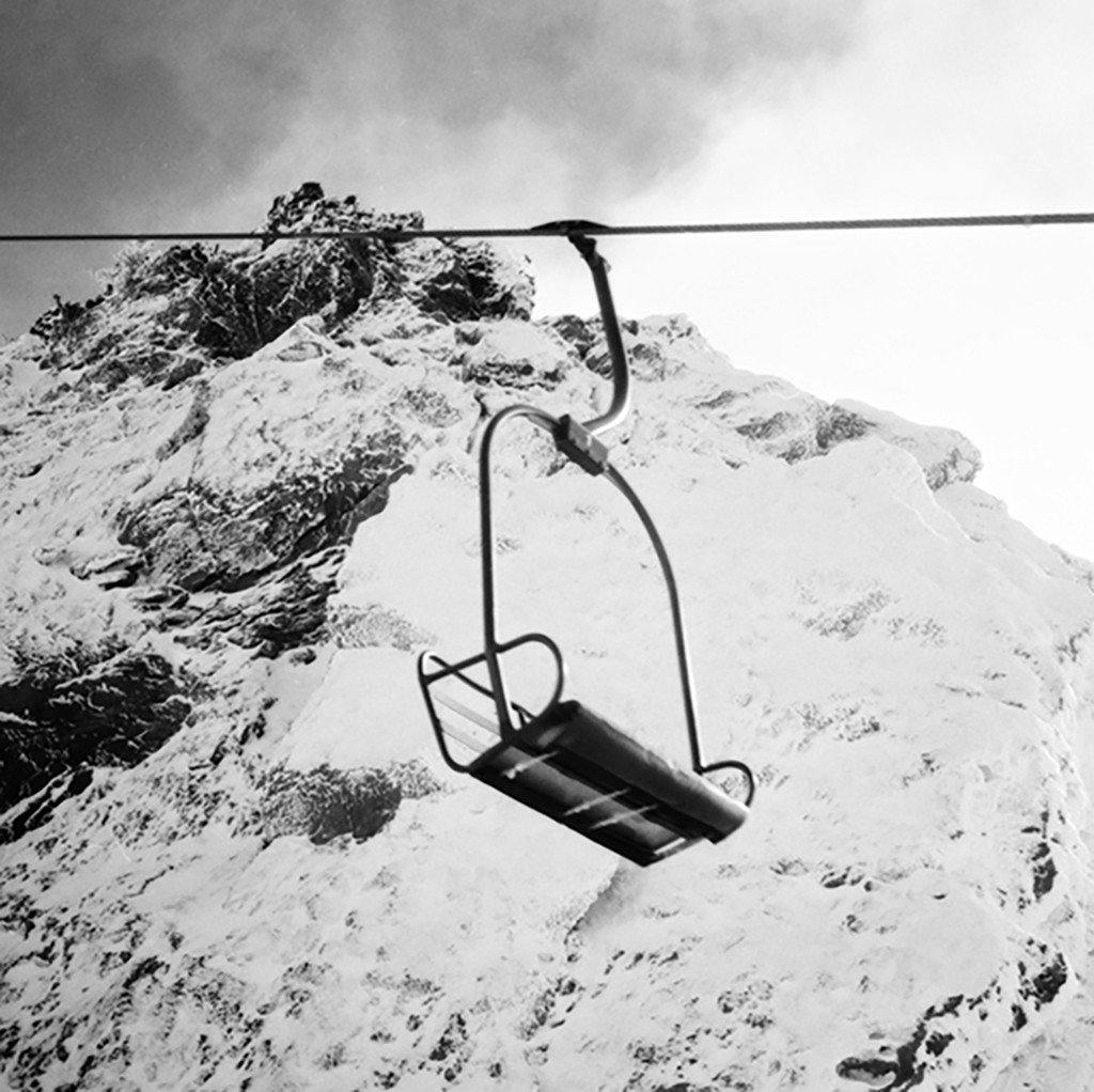 Another Lonely Chairlift (Mammoth Mountain, California)