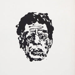 Blue Glass (Portrait of Philip Glass)