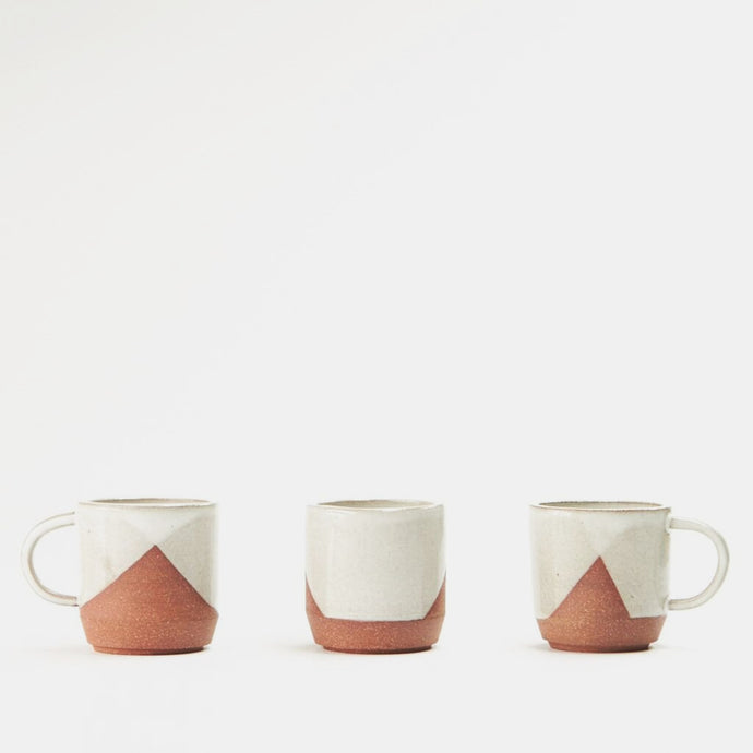 Small Cross-Dip Mugs - Set of 3