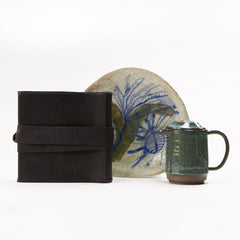 Ceramics and Leather Gift