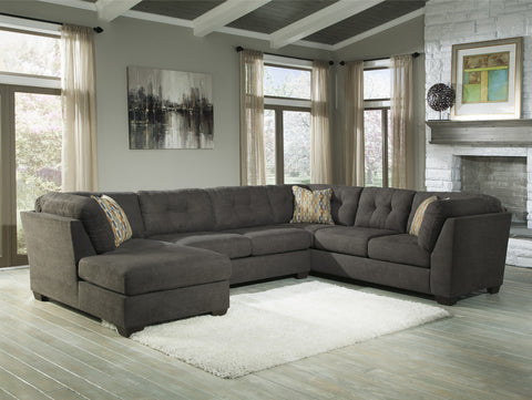 Delta City Sectional w/ Left Corner Chaise