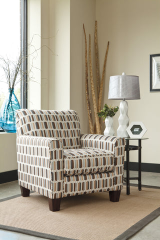 Janley Nugat Accent Chair