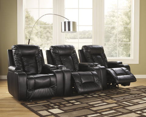 Matinee 3pc Home Theater Power Recliner Set