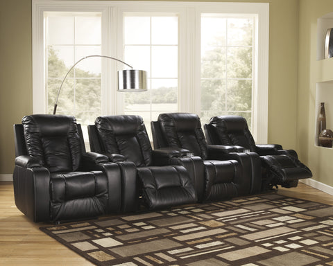 Matinee 4pc Home Theater Power Recliner Set