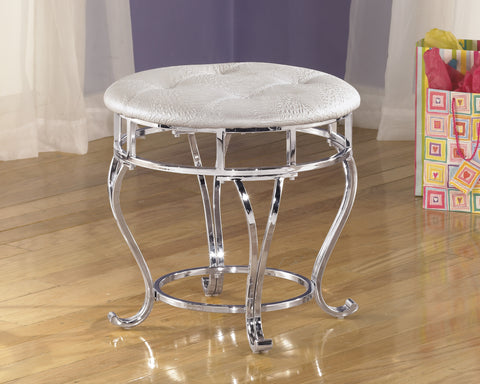 Zarollina Kids Upholstered Stool