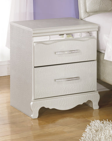Zarollina Kids 2 Drawer Night Stand