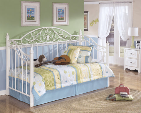 Exquisite Kids Metal Day Bed with Deck