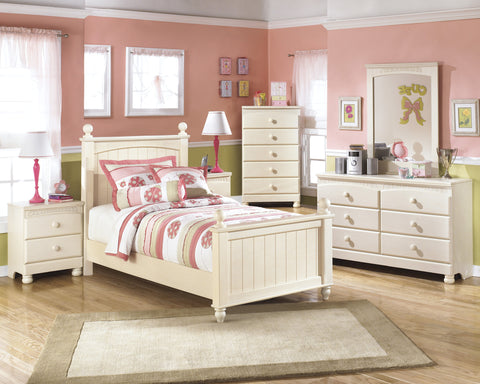 Cottage Retreat 5pc Kids Twin Poster Bedroom Set