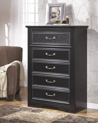 Cavallino - Five Drawer Chest