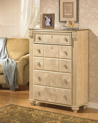 Saveaha - Five Drawer Chest