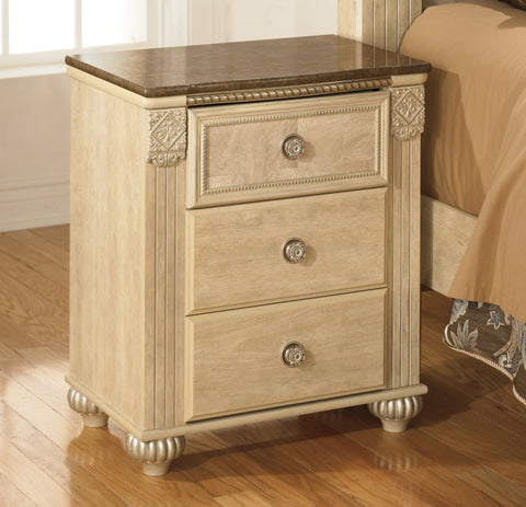 Saveaha - 3 Drawer Night Stand
