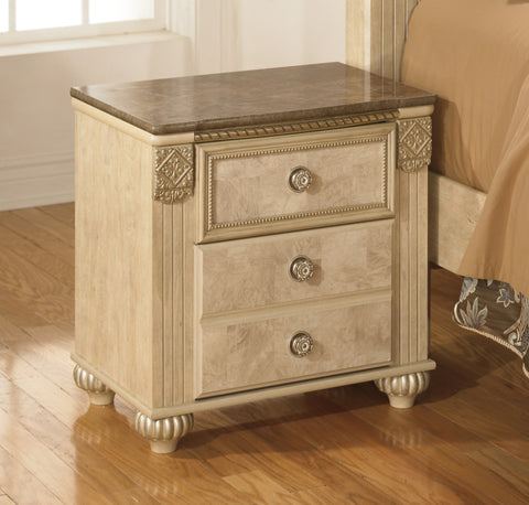 Saveaha - 2 Drawer Night Stand