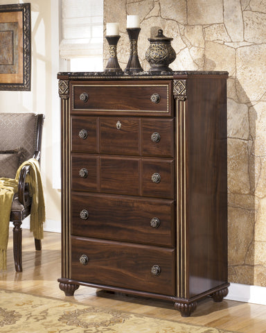 Gabriela - Five Drawer Chest