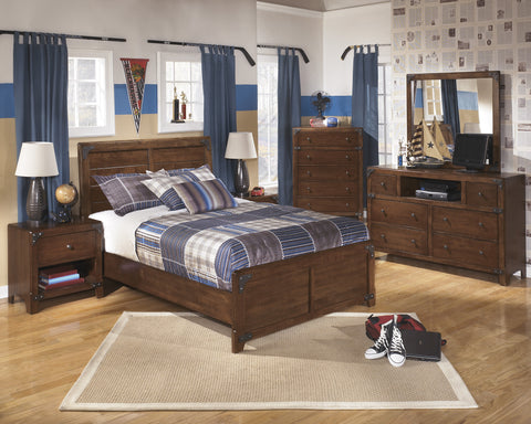 Delburne 5pc Kids Full Bedroom Set