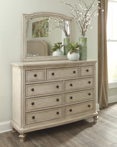 Demarlos - 2pc Dresser Mirror Set