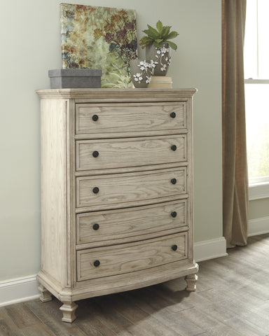 Demarlos - Five Drawer Chest