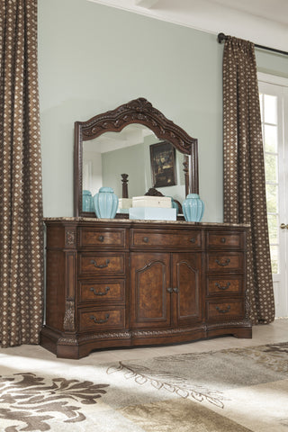 Ledelle - 2pc Dresser Mirror Set