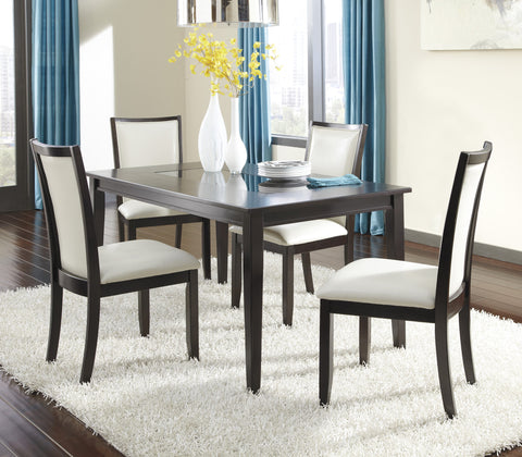 Trishelle 5pc Dining Room Table Set