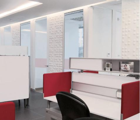 Braille Wall Flats Office Installation | Inhabit