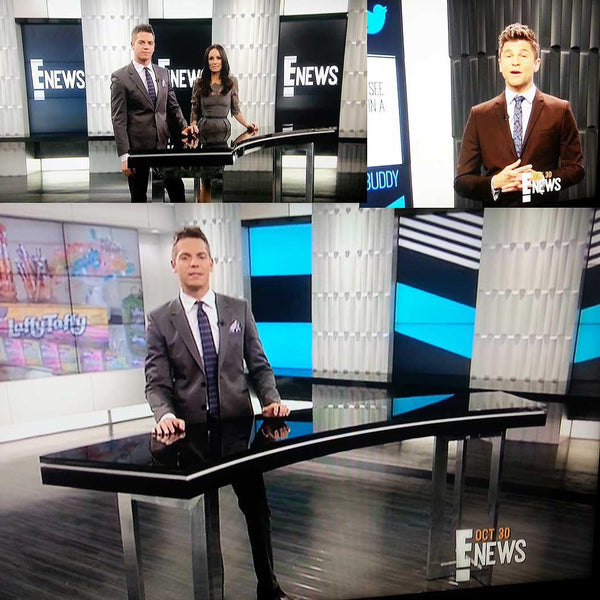 Seesaw Wall Flats on E! News | Inhabit