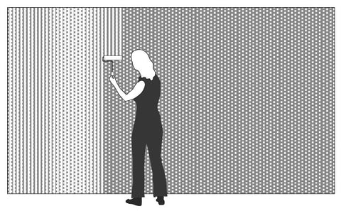 How to Install 3D Wall Panels | Step 3 Applying Adhesive | Inhabit Wall Flats
