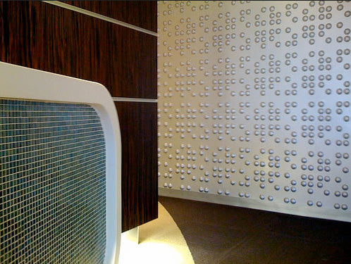 Braille Wall Flats – 3D Wall Panels