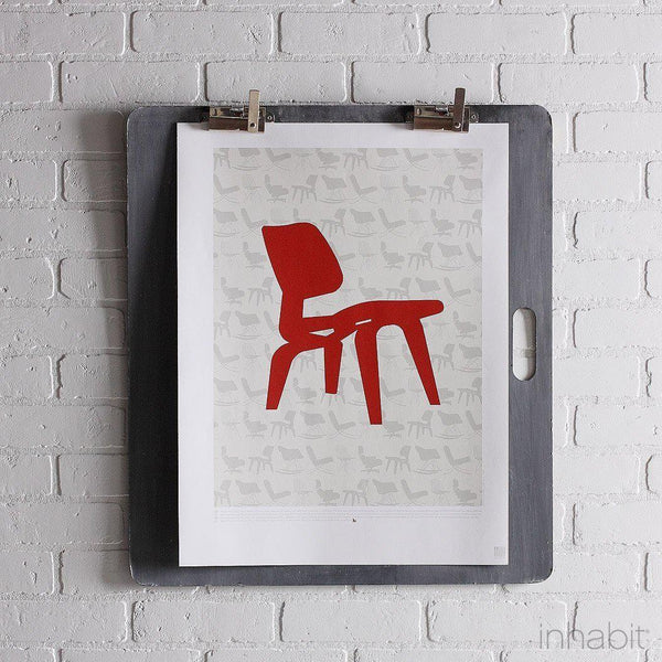 "1946 in Scarlet & Soy Print - 18"" x24""- Art Prints - Inhabitliving.com - Inhabit - 1"