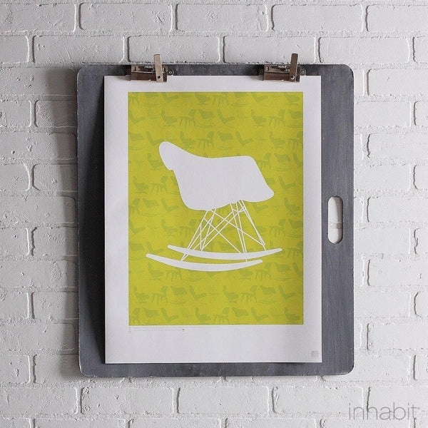 "1948 in Lime Print - 18"" x24""- Art Prints - Inhabitliving.com - Inhabit - 1"