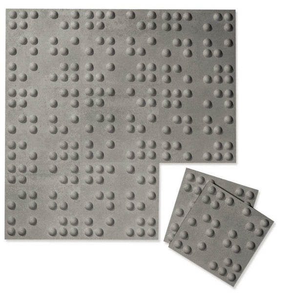 Braille 3D Luxe Wall Flats-Luxe Wall Flats-Inhabit