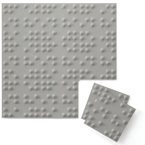 Braille 3D Supermatte Wall Flats-Luxe Wall Flats-Inhabit