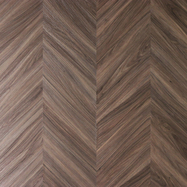 Variplank - Classic Walnut Peel + Stick Wood Look Herringbone Variplanks - 1 - Inhabit