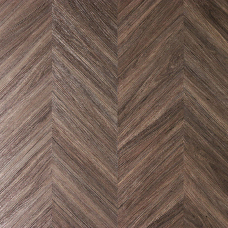 Classic Walnut Peel + Stick Wood Look Herringbone Variplanks-Variplank-Inhabit