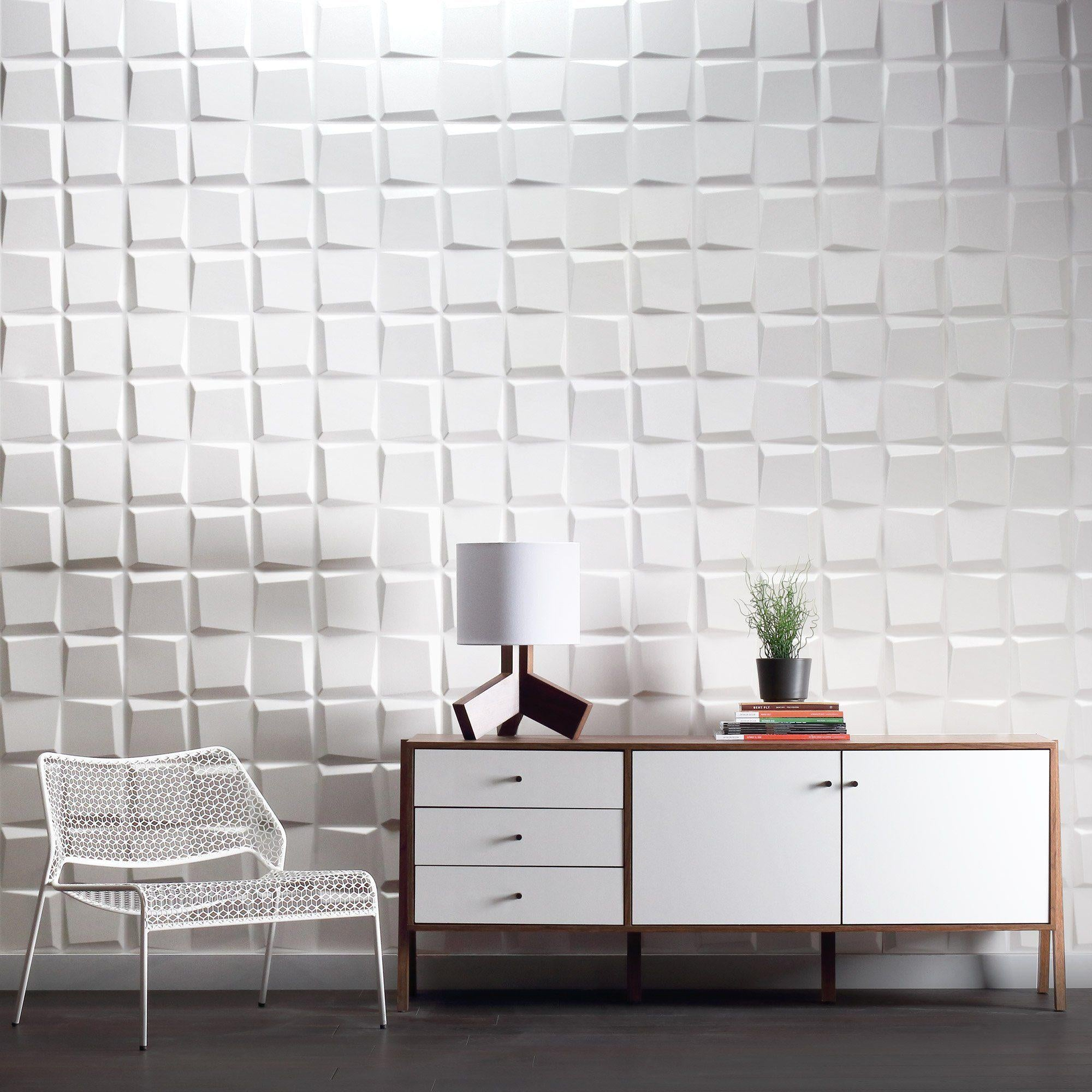 Modern Furnishings | 3D Wall Panels | Dimensional Walls | Cubit Outlet Wall  Flats U2013 Inhabit