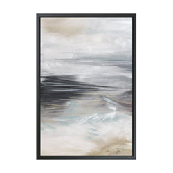 Swell #1 Framed Art Canvas-Canvas-Inhabit