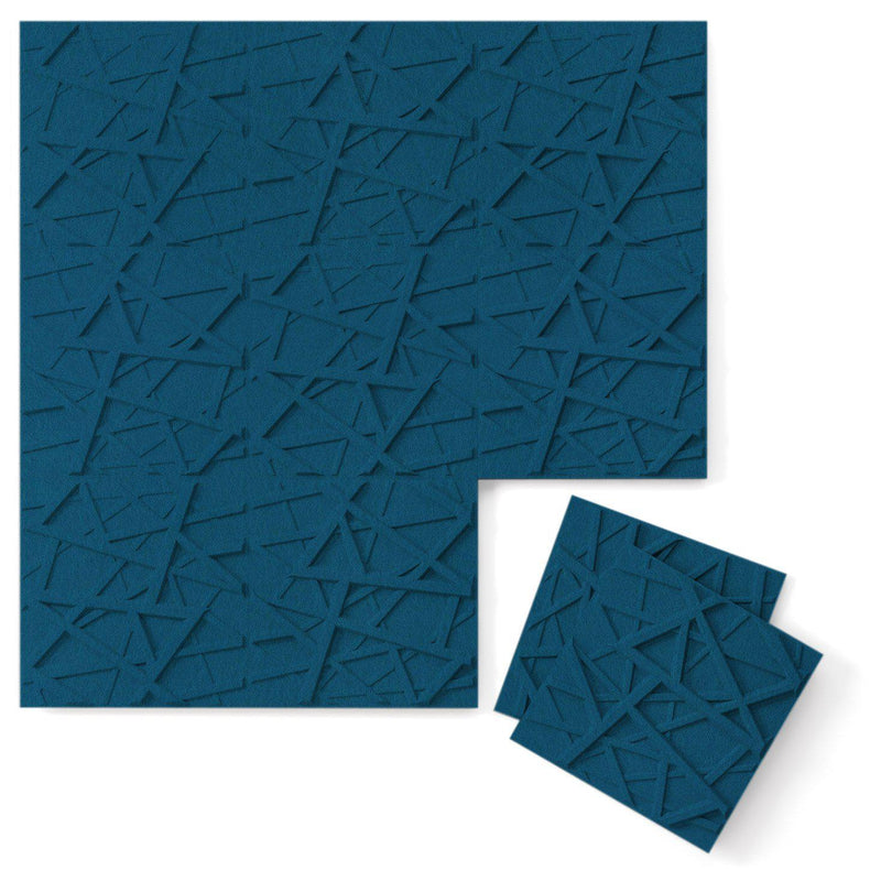 Felt 3D Wall Flats - Acoustic Panels - Hatch 3D PET Felt Wall Flats - 9 - Inhabit