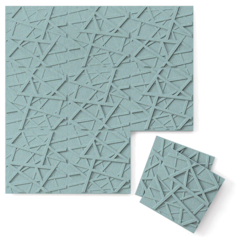 Felt 3D Wall Flats - Acoustic Panels - Hatch 3D PET Felt Wall Flats - 8 - Inhabit