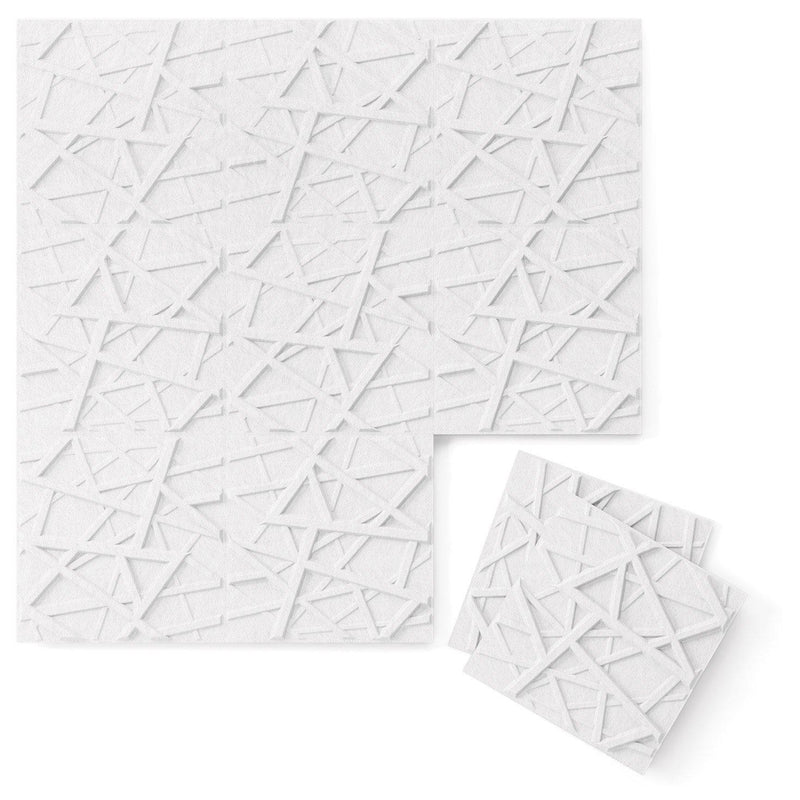 Felt 3D Wall Flats - Acoustic Panels - Hatch 3D PET Felt Wall Flats - 12 - Inhabit