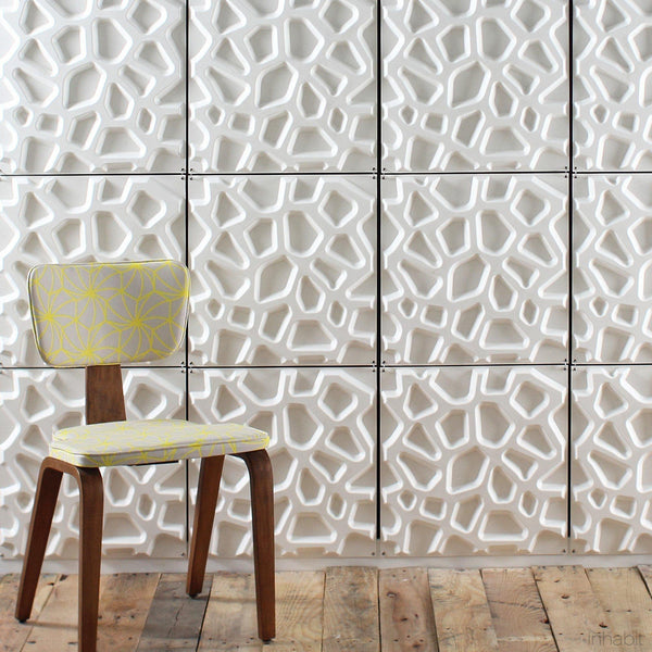 Hive Hanging Wall Flat System - 3D Wall Panels - - Hanging Wall Flat Systems - Inhabitliving.com - Inhabit - 2