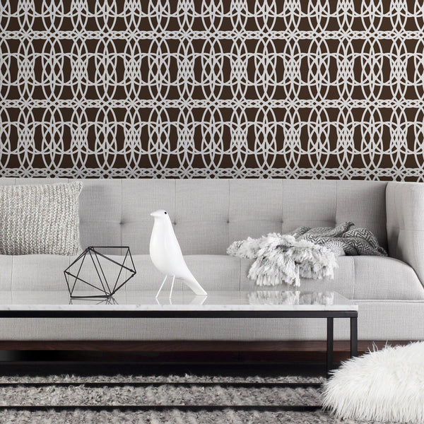 Loom Wallpaper-Wallpaper-Inhabit