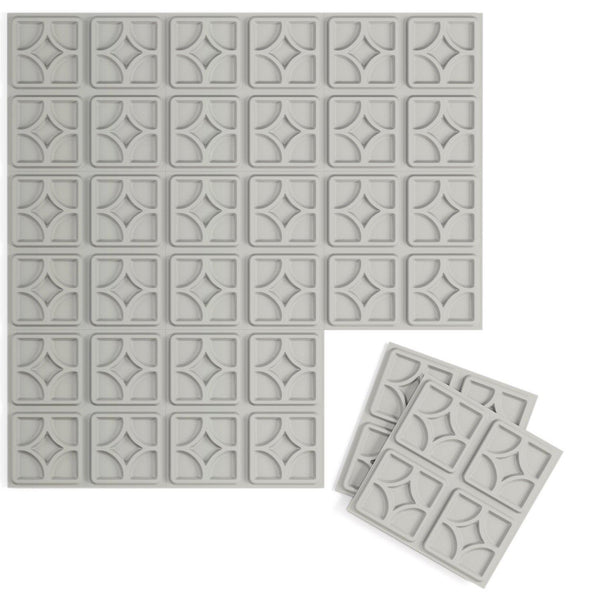 Luna 3D Supermatte Wall Flats-Luxe Wall Flats-Inhabit