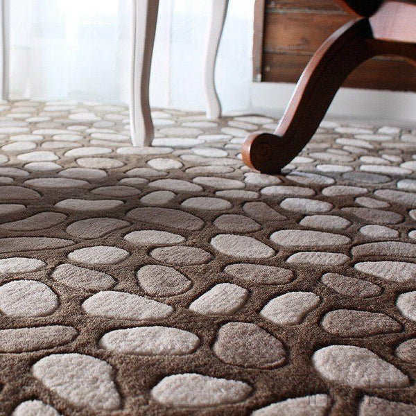 Pumice Stone in Natural Hand-Tufted Wool Area Rug - - Wool Area Rugs - Inhabitliving.com - Inhabit - 1