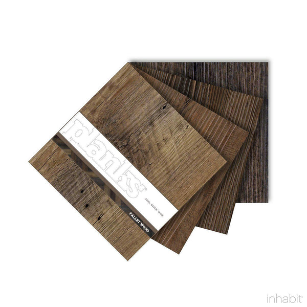 Plank Samples - Pallet Wood Sample- Planks - Inhabitliving.com - Inhabit - 2