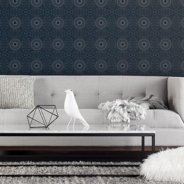 Rhythm Wallpaper in Residential + Commercial Grade-Wallpaper-Inhabit